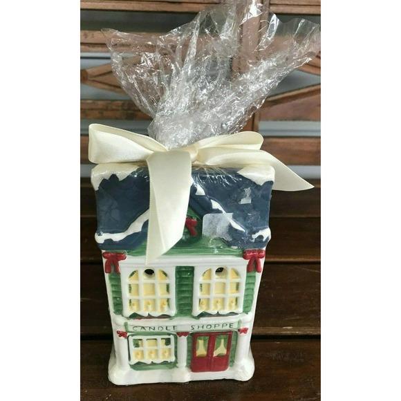 Yankee Candle Christmas Tart Warmer w/Tarts
